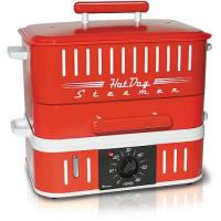 Cuizen Red Hotdog Steamer With Timer