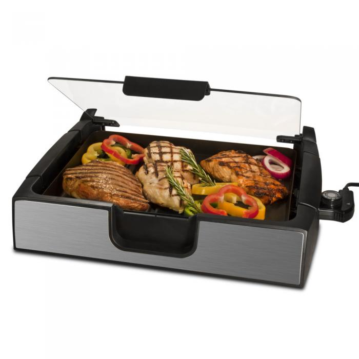 Smart Planet Smokeless Stainless Steel Grill