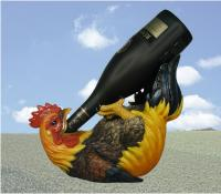 DWK Rooster Wine Holder