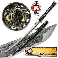 Masahiro - Folded Steel Samurai Sword - 1000+ Layers - Dragon