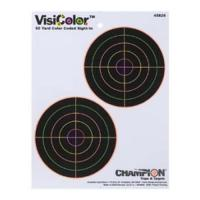 "Champion Traps & Targets Visiscolor 5"" Double Bull"
