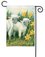 Magnet Works Easter Blessings Garden Flag
