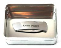 Engraved Pocket Knife and Engraved Gift Tin Combo