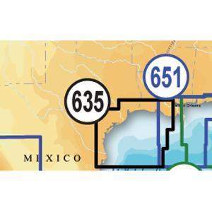 Navionics Platinum Plus West Gulf of Mexico on SD/Micro SD