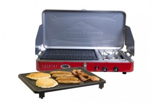 Camp Chef Mountain Series 2 Burner Stove/Grill/Griddle Combo