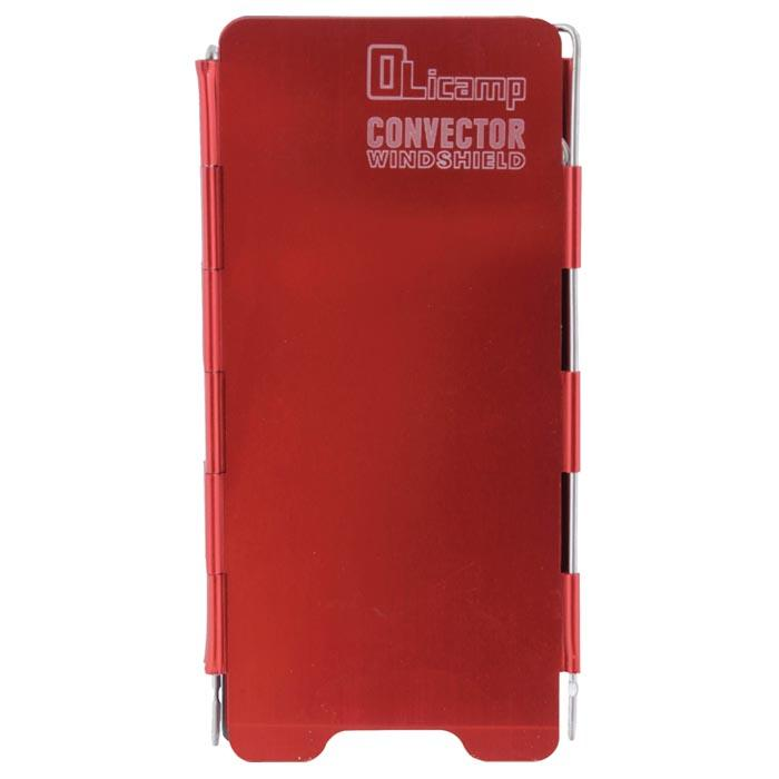 Olicamp Convector Windshield-Red