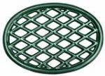 John Wright Company Trivet - Green Majolica Lattice