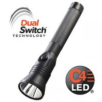 Streamlight Stinger Dual Switch LED Rechargeable Flashlight with HP Steady Piggyback AC/DC