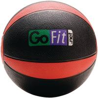 Gofit GF-MB8 Medicine Ball (8 lbs; Black & Red)
