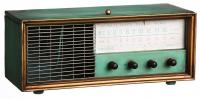 Evergreen Enterprises Antique Radio Metal Wine Box