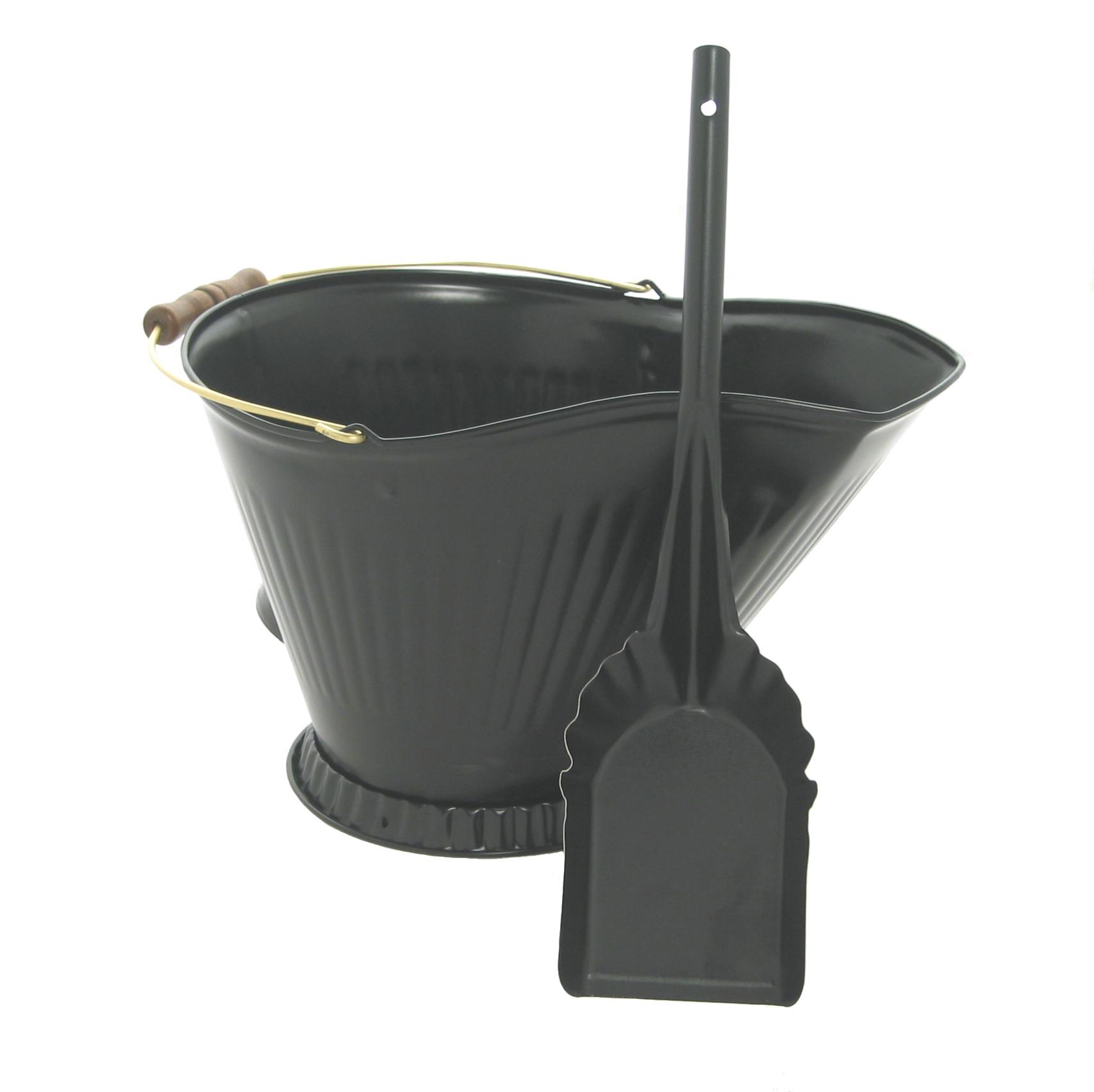 Imperial Manufacturing Coal Hod Amp Shovel Set Black