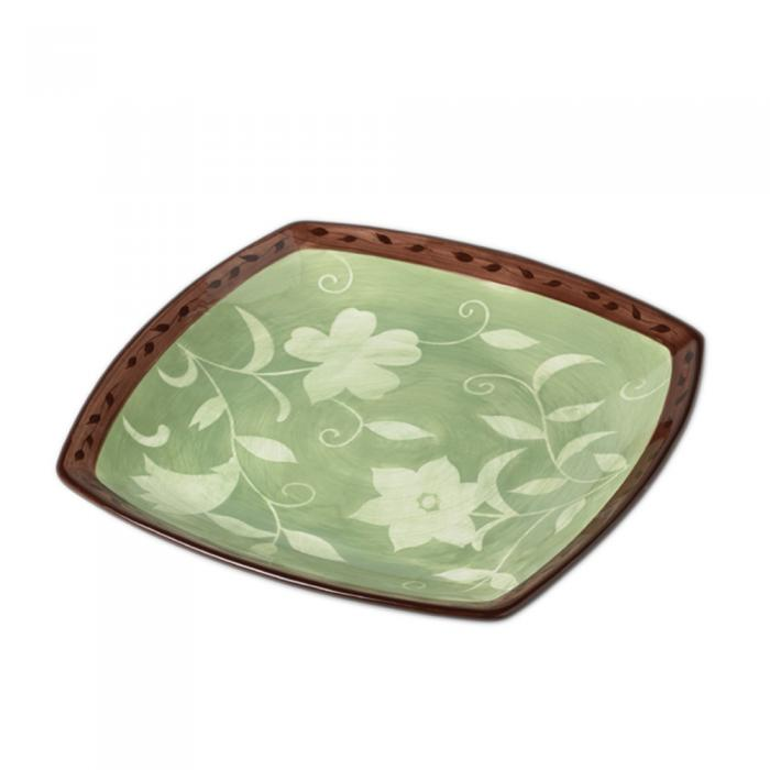 Pfaltzgraff Patio Garden Square Platter