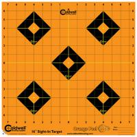 "Orange Peel Sight-In Target: 16"" 5 sheets"