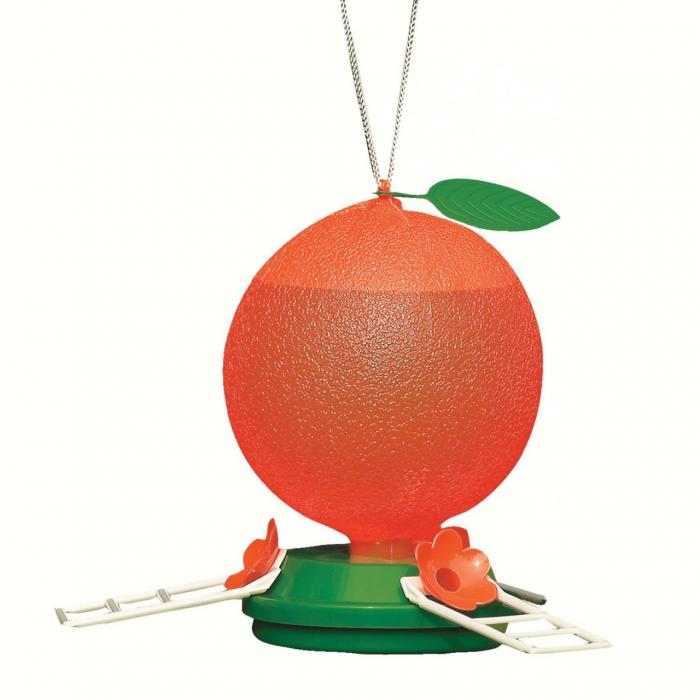 Artline 40 Ounce Orange Oriole Bird Feeder