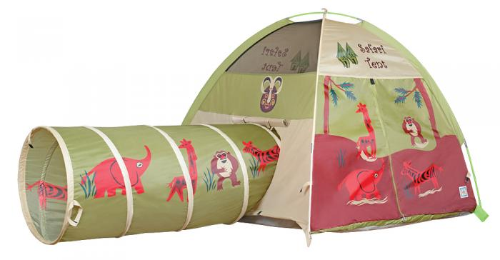 Pacific Play Tents Jungle Safari Tent & Tunnel Combo