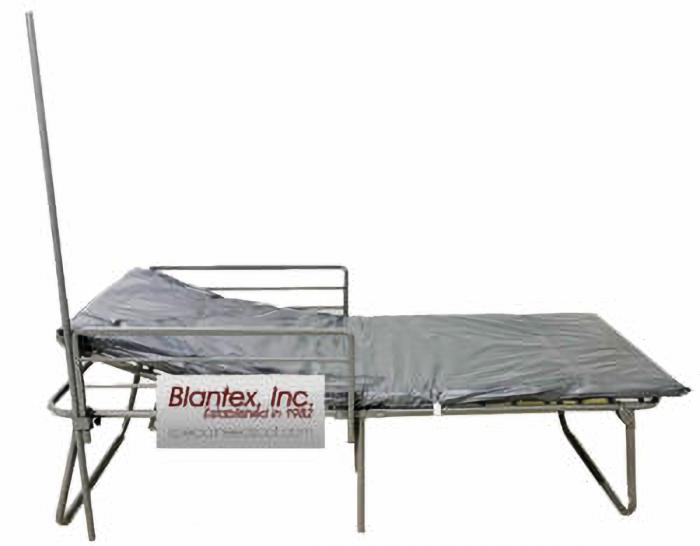 Fema ADA 4 Position Cot  with Guardrails and IV Pole (Truckload Quantities)