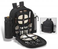 Picnic at Ascot Deluxe Equipped 2 Person Picnic Backpack- London Plaid