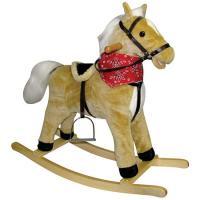 Charm Blonde Horse Rocking Horse