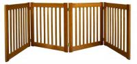 Four Panel EZ Pet Gate - Small/Artisan Bronze