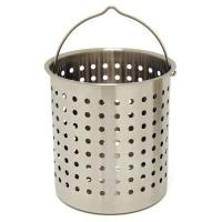 Bayou Classic 44-Quart Stainless Perforated Basket