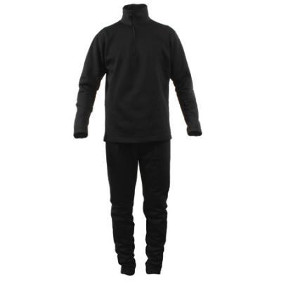 Terramar Stretch Fleece Mens Btm Blk Lg