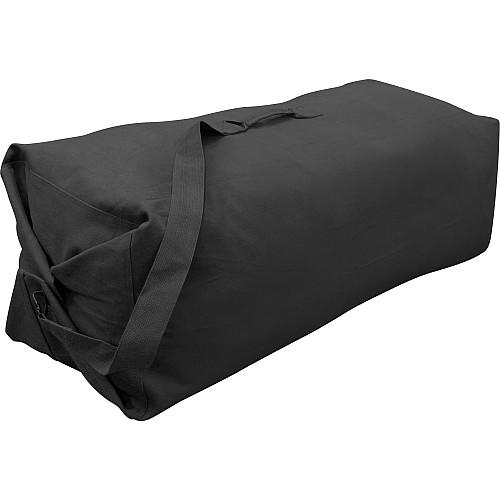 "Stansport Duffle Bag with Strap - Black - 30"" X 50"""