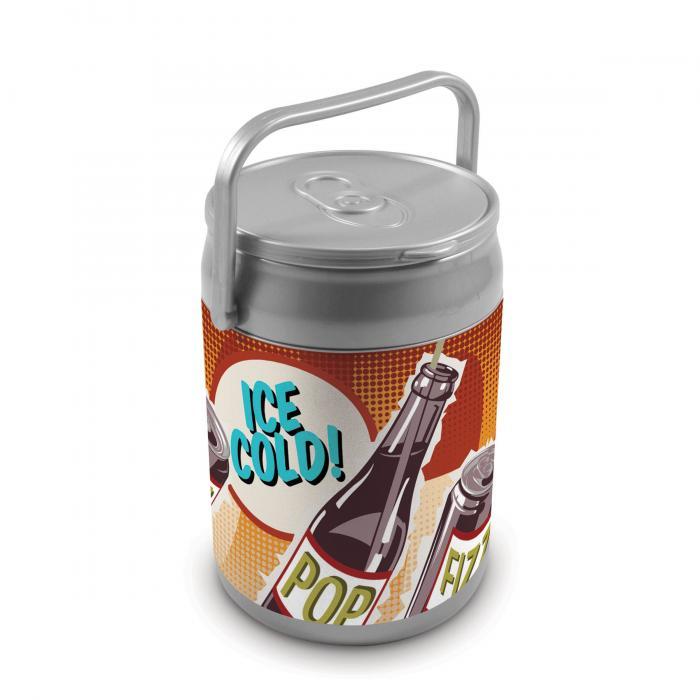 Picnic Time 9 Quart Capacity Can Cooler Retro Pop Can